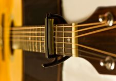 Free Capo On Guitar Stock Photos - 15937213