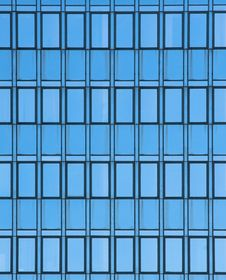 Free Modern Office Glass Wall Royalty Free Stock Image - 15937416