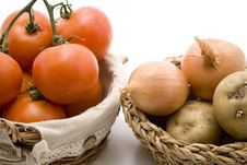 Free Tomatoes With Onions Stock Image - 15937591