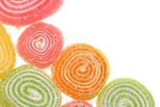 Free Fruit Candies On A White Background. Royalty Free Stock Image - 15938186