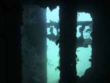 Free Wreck Underwater Royalty Free Stock Photos - 15939038