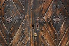 Free Wooden Door Stock Images - 15939334