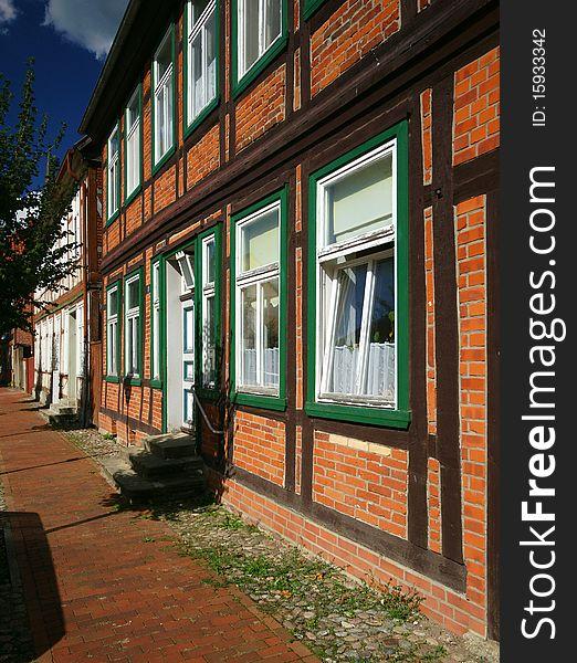 Timber-Framed House