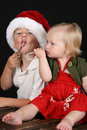 Free Christmas Family Royalty Free Stock Photography - 15949907
