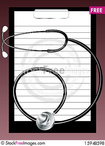 Free Medical Background Royalty Free Stock Photos - 15948598