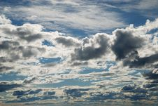 Free The Finnish Sky In Summer Evening. Royalty Free Stock Photo - 15940505