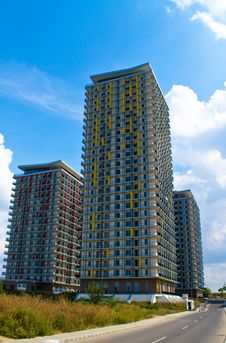 Free Apartment Buildings Royalty Free Stock Images - 15940819