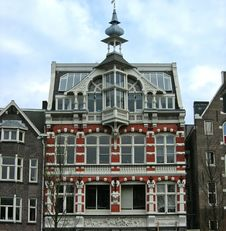 Free Amsterdam Historical Buildings 5 Stock Photography - 15940982