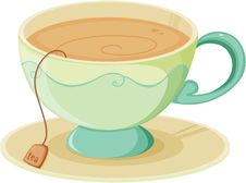 Free Cup And Saucer Stock Photography - 15941092