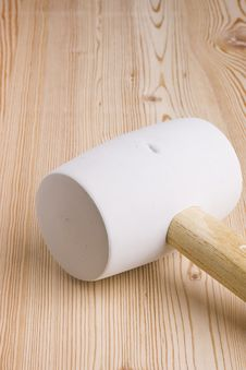 Free Woodworking Mallet Stock Photography - 15942042