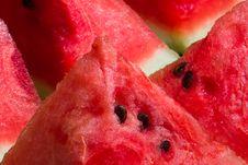 Free Watermelon Slices Stock Photos - 15942233