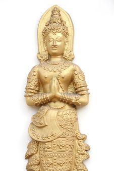 Image Of Buddha Thailand Style Royalty Free Stock Images