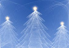 Free Abstract Christmas Tree Royalty Free Stock Photo - 15943055