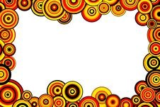 Free Red, Yellow And Orange Circles Royalty Free Stock Images - 15943089