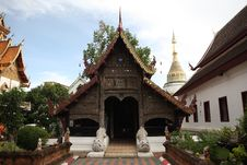 Free Beautiful Thai Temple With Sky Background Stock Images - 15943174