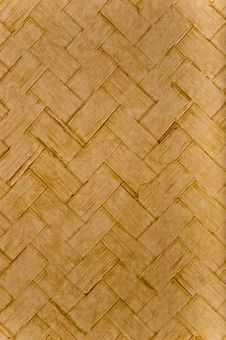 Wicker Or Weave Pattern Material Stock Photos