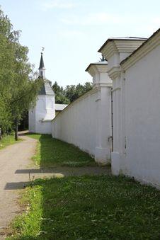 Monastery Wall Stock Photo