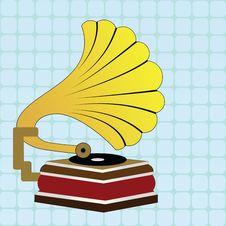 Free Gramophone Royalty Free Stock Image - 15944046