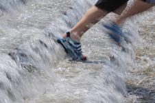 Free Run On Water Royalty Free Stock Photo - 15944855