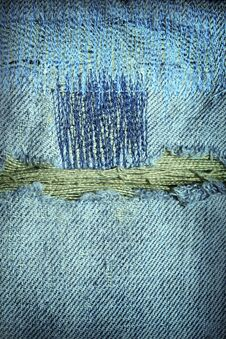 Free Old Blue Jeans Stock Photos - 15945343