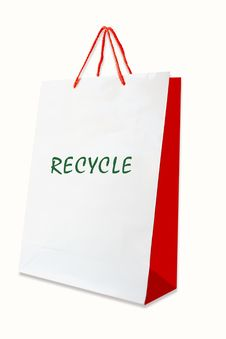 Free Recycle Bag Stock Photography - 15945642
