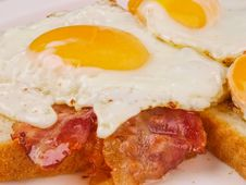 Free Egg And Bacon Stock Photo - 15946100