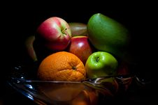 Free Fruit Bowl Royalty Free Stock Photo - 15946615