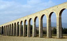 Free Noain S Roman Aqueduct, Navarre, Spain. Royalty Free Stock Image - 15947786
