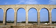 Free Noain S Roman Aqueduct, Navarre, Spain. Royalty Free Stock Photos - 15947878