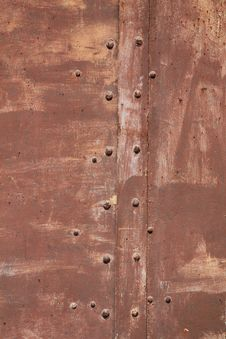Free Rusty Metal Door Stock Photos - 15947923