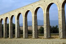Free Noain S Roman Aqueduct, Navarre, Spain. Stock Photos - 15948053
