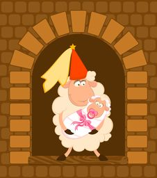 Free Princess With Baby Royalty Free Stock Images - 15948059