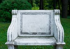 Free Stone Chair Royalty Free Stock Photo - 15948235