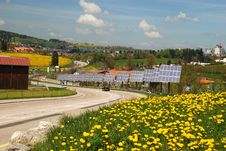 Free Solar Cells In  Le-Chaux-de-Fonds City Stock Image - 15948301