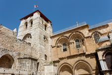 Free Belfry Tower Of Church Of The Holy Sepulchre Royalty Free Stock Images - 15948439