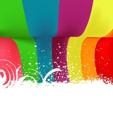 Free Colored Abstract Background Royalty Free Stock Photo - 15948635