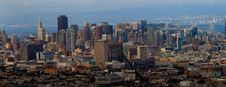 Free Downtown Of San Francisco Panorama Stock Image - 15949251