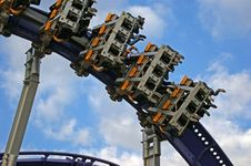 Free Roller Coaster Royalty Free Stock Photography - 15949347