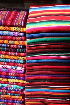 Free Mexican Blankets Royalty Free Stock Photo - 15949825