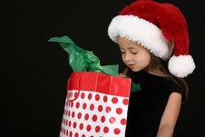 Free Christmas Girl Stock Image - 15949831