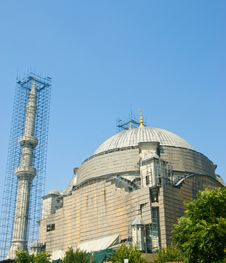 Free Mosque COnstruction Royalty Free Stock Photography - 15949847