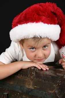 Free Christmas Boy Stock Image - 15949861