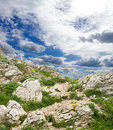 Free Clouds Above Mountain Stock Photography - 15952852