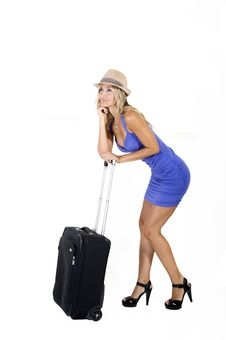 Free Travelling Woman Stock Photography - 15951132