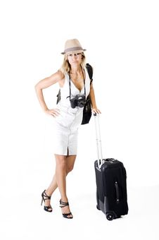 Free Travelling Woman Stock Images - 15951154