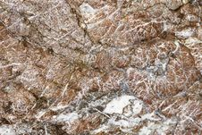 Structure Of A Stone. Royalty Free Stock Images