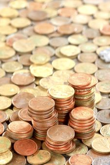 Free Coins Wallpaper Stock Photo - 15952230