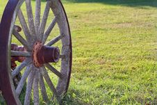 Wagon Wheel Royalty Free Stock Photography