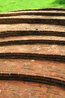 Free Stairway Brick Stock Photos - 15953163