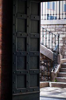 Free Door Of A Churh Stock Photography - 15953252